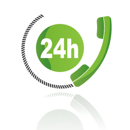 24 hour electrical callout availability icon
