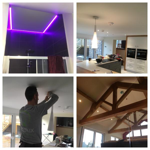 LED lights look fantastic in domestic spaces